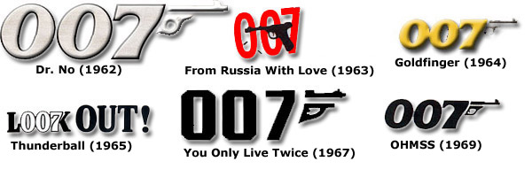 007 Logo | BondMovies.com: The James Bond Movies