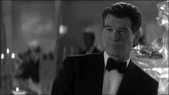 Photograph of Pierce Brosnan