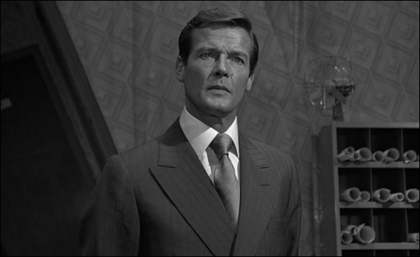 Photograph of Roger Moore