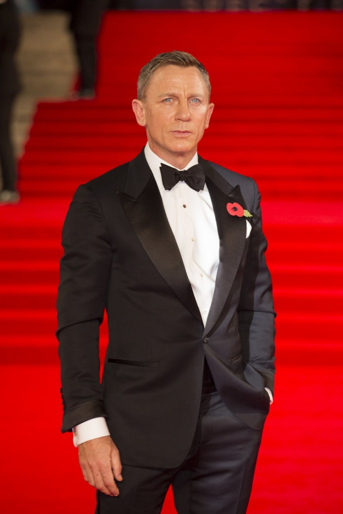 Daniel Craig at the Spectre world premiere
