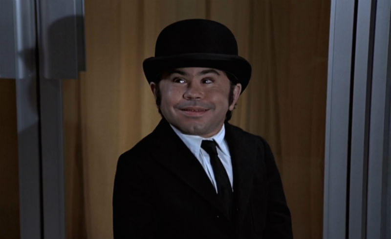 Nick Nack played by Herve Villechaize in The Man With The Golden Gun (1974)