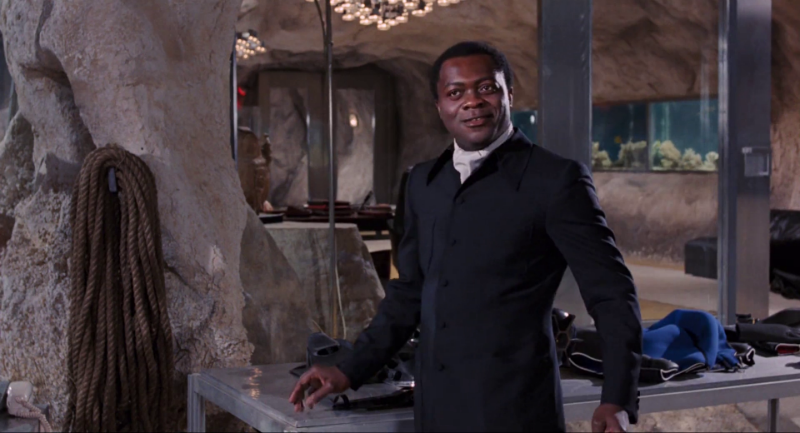 Yaphet Kotto as Kananga from LIve And Let Die (1973)