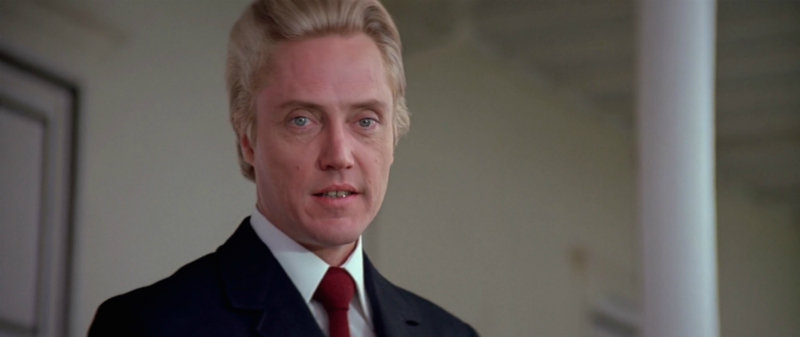 Christopher Walken as Max Zorin in A View To A Kill (1985)