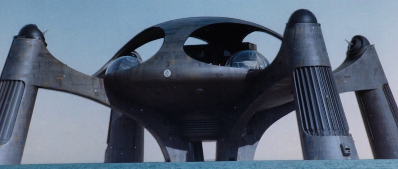 Stromberg's Atlantis lair in The Spy Who Loved Me (1977)