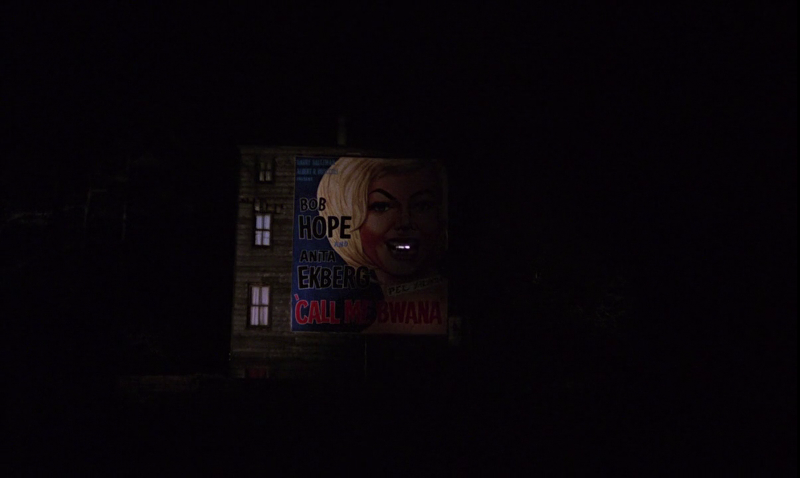 Call Me Bwana (1963) movie poster as seen in From Russia With Love (1963)