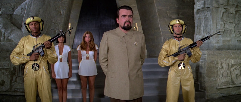 Drax and his dorky henchment from Moonraker (1979)