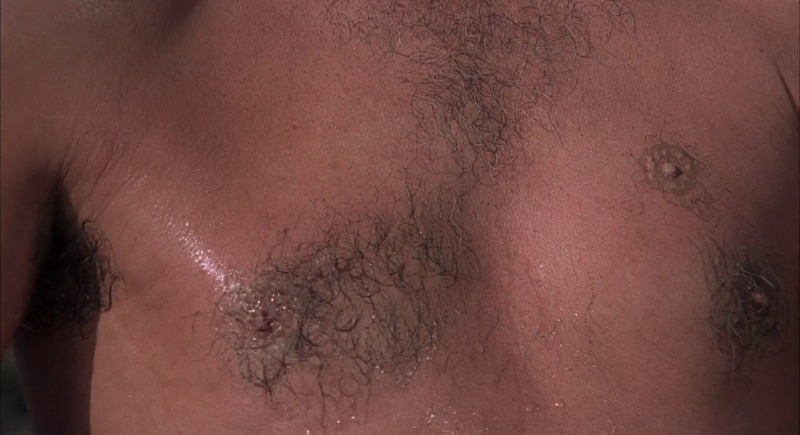 Scaramanga's third nipple in The Man With The Golden Gun (1974)