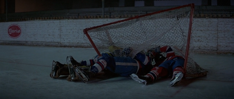 James Bond beats the hockey baddies in For Your Eyes Only (1981)