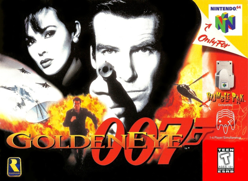GoldenEye 007 on Nintendo 64