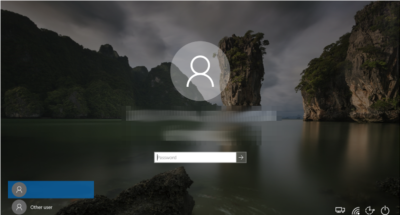 "Windows 10 ""James Bond Island"" Thailand Lock Screen - setting of The Man With The Golden Gun (1974)"