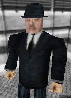 Oddjob on GoldenEye 007 for Nintendo 64