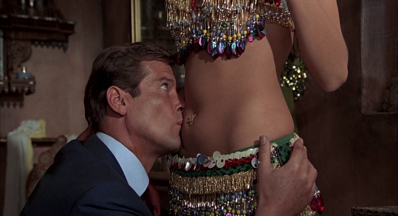 Roger Moore as James Bond in The Man with the Golden Gun (1974)