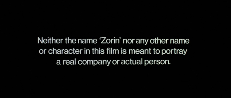 Disclaimer before A View to a Kill (1985)