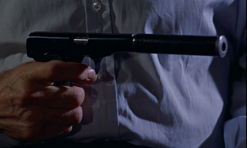 James Bond's newly assigned Walther PPK handgun in Dr. No (1962)