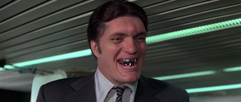Richard Kiel as Jaws smiles in Moonraker (1979)