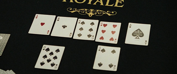 "Le Chiffre's ""almost"" winning hand"