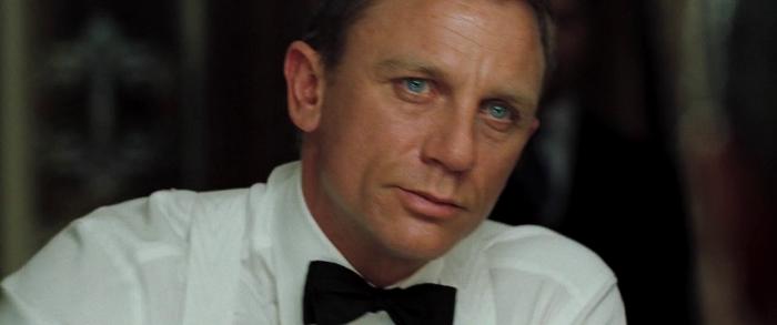 Bond's winning look