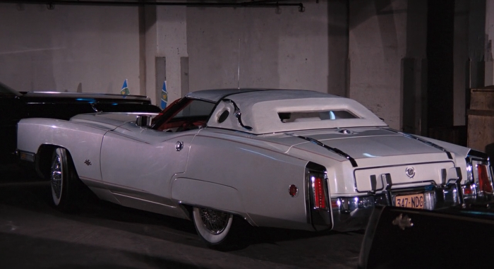 The white Chevrolet Corvette 'Corvorado' Dunham Coach from Live and Let Die (1973)