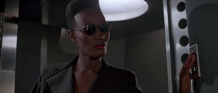 Grace Jones as Mayday in A View to a Kill (1985)