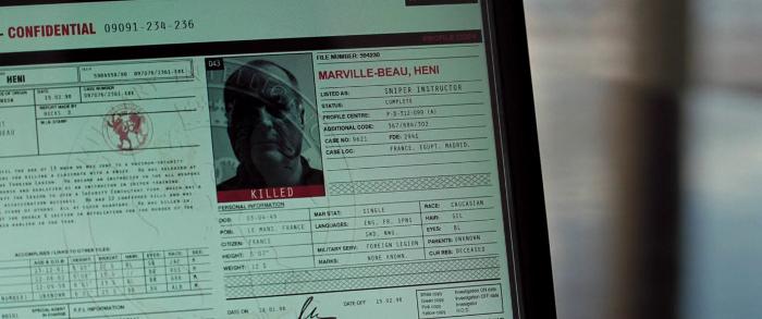 Heni Marville-Beau - Sniper Instructor (Killed)