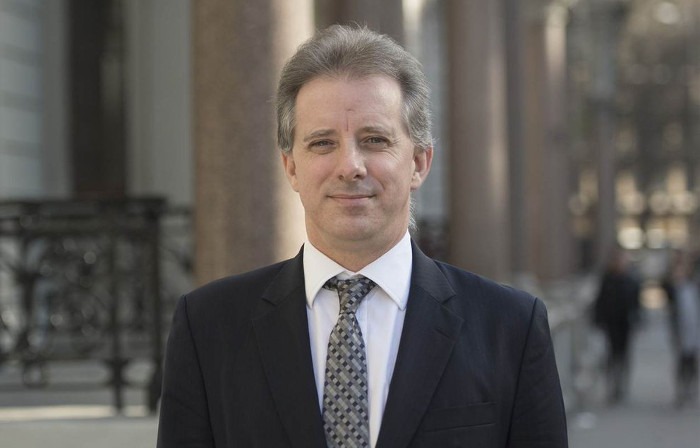 Former MI6 agent Christopher Steele - I wonder what double-oh number he was?