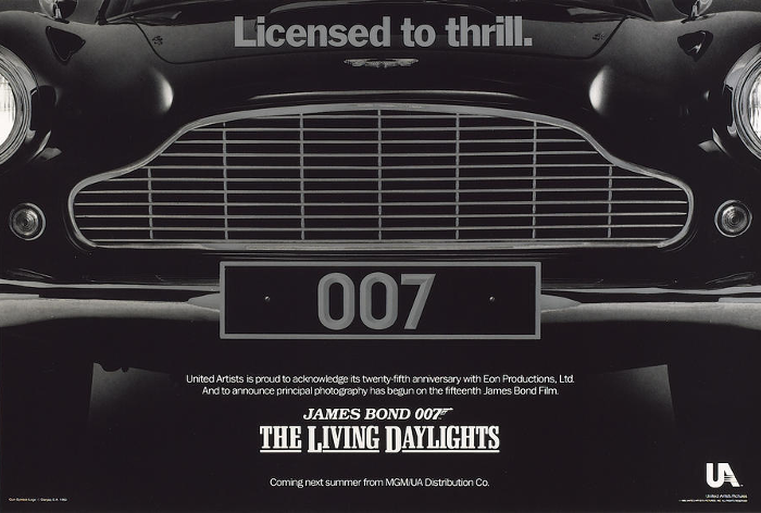The Living Daylights (1987) teaser poster