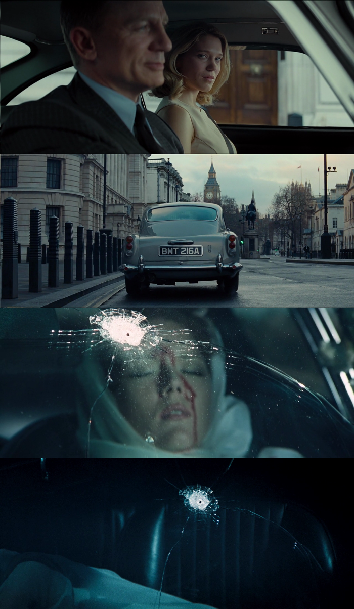 This mashup of the end of Spectre (2015) and the tragic end of On Her Majesty's Secret Service (1969) would definitely have been amazing!