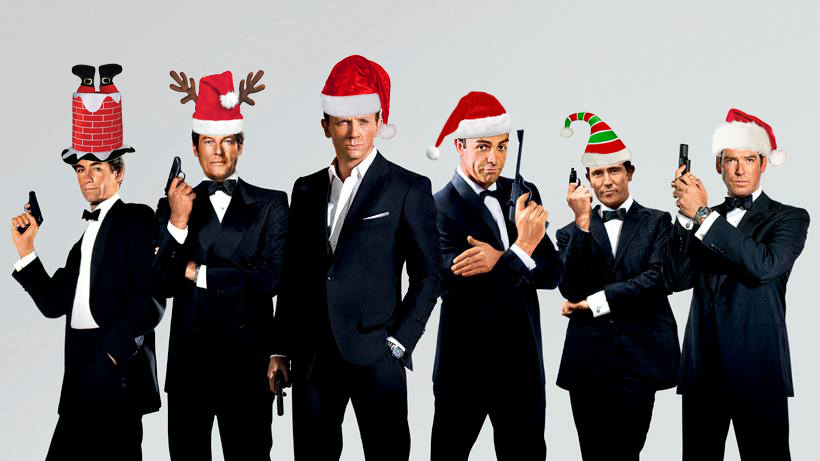 Merry Christmas, 007!
