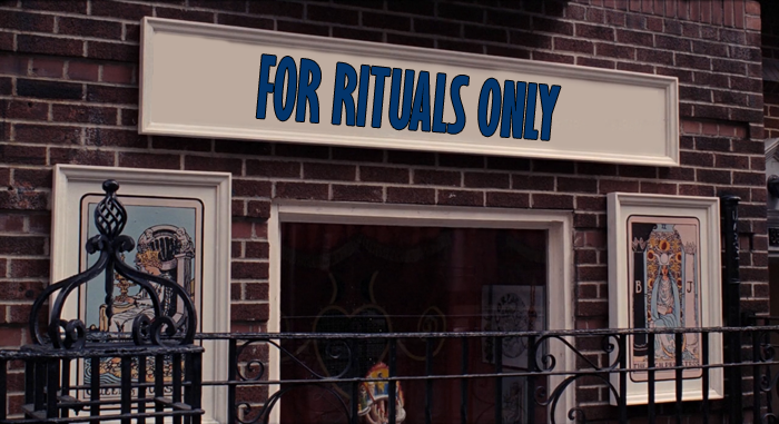 """For Rituals Only"" in Live and Let Die (1973)"